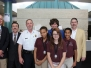 GSA Students and Administrators Visit the Police Station
